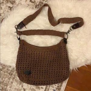 AE crochet bag